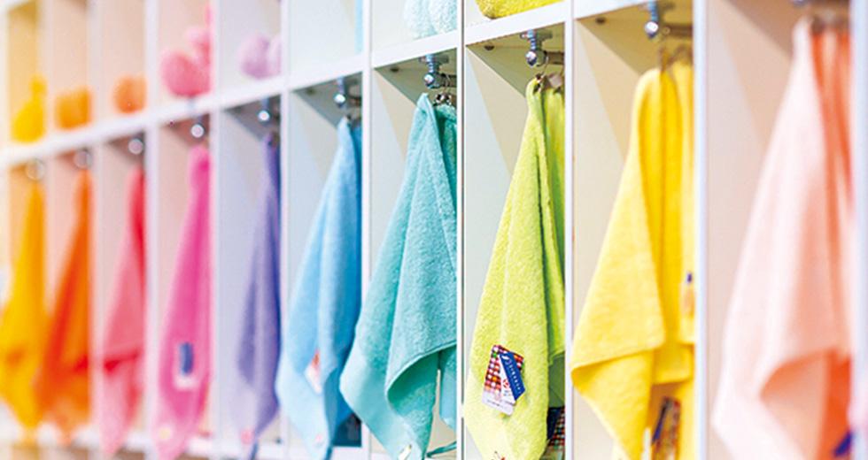 選べるタオルのカラーは40色